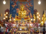 Wat Thai of Los Angeles main temple Buddha